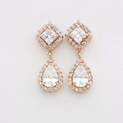 Silver Bridesmaids Earrings- Kala