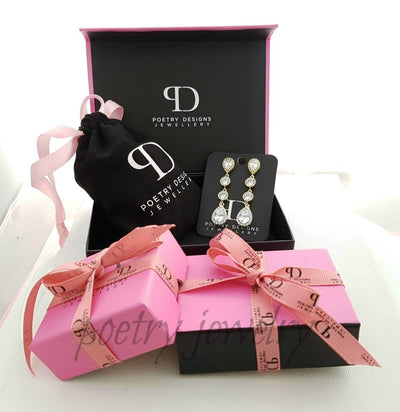 Wedding Drop Earrings Christy