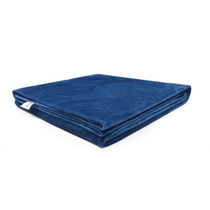 Weighted Blanket Cover, Navy | Snuzi Life