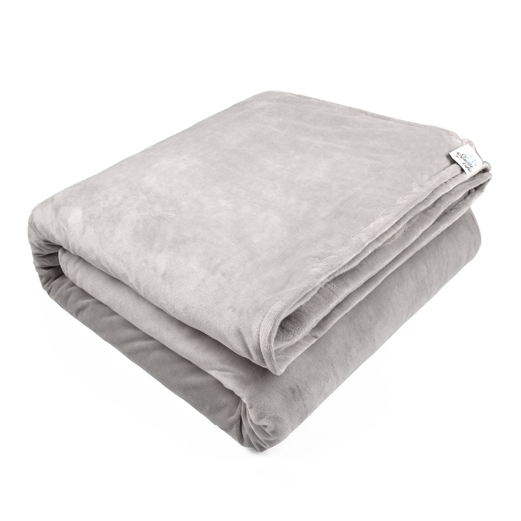Weighted Blanket Cover, Grey | Snuzi Life