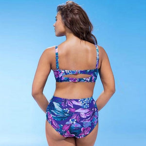 New Style Plus Size Womens Swimsuit Padded