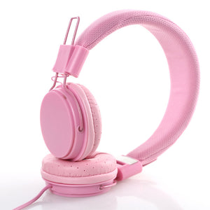 Pink Candy Headphones
