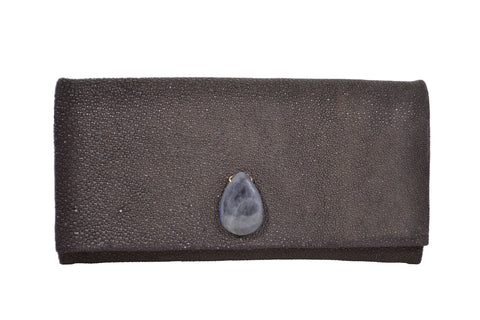 Black Medium Clutch