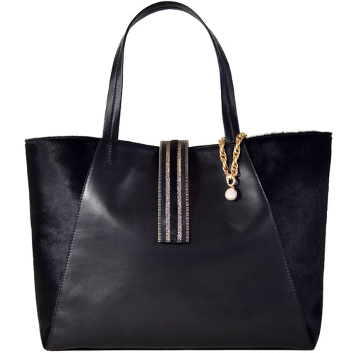 Black Convertible 3C Tote