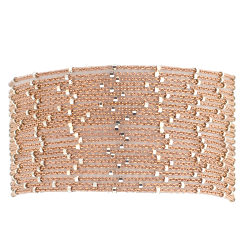 Rose Gold Starry Nights Bracelet
