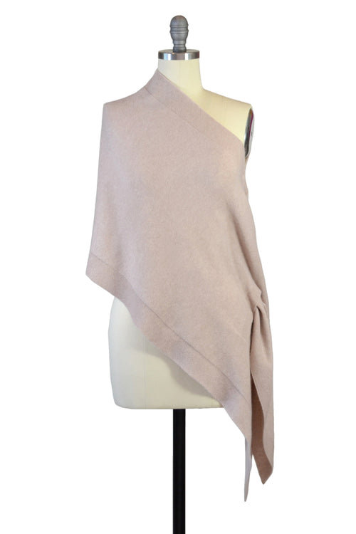 Cashmere Stole in Blush