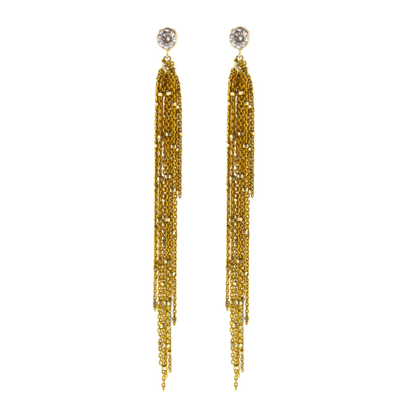 Gold Starry Nights Earrings