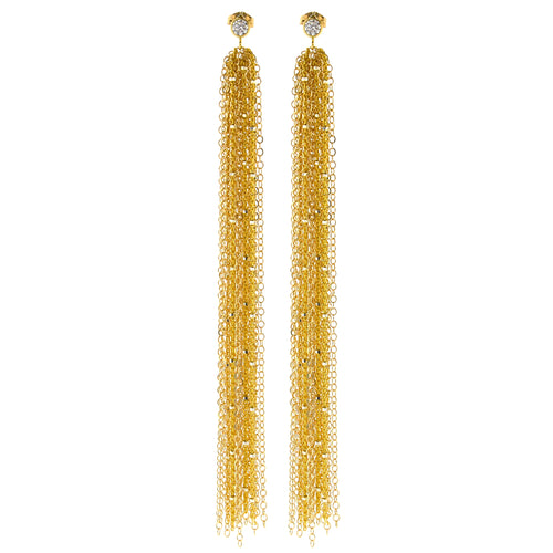 Gold Sweeper Earrings