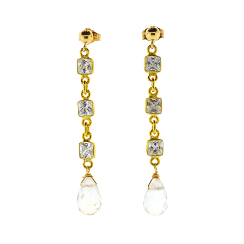 Vallauris Earrings in Gold