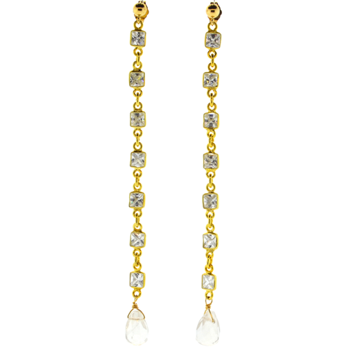 Sweeper Vallauris Earrings in Gold