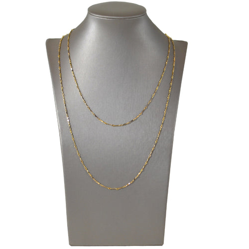 Dainty & Delicate Long Necklace in Gold