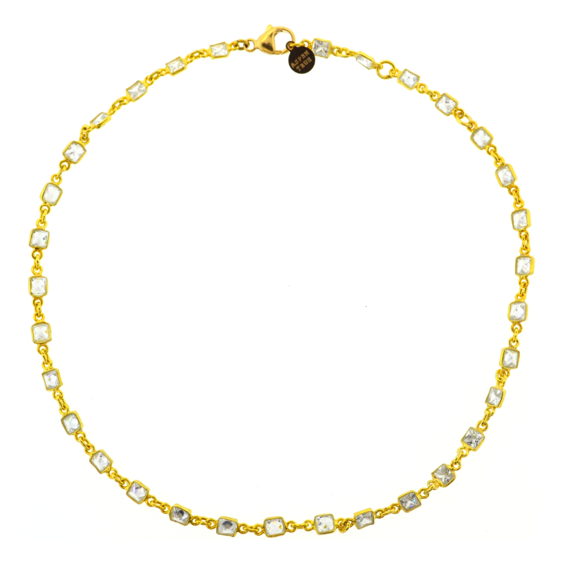 Vallauris Choker in Gold
