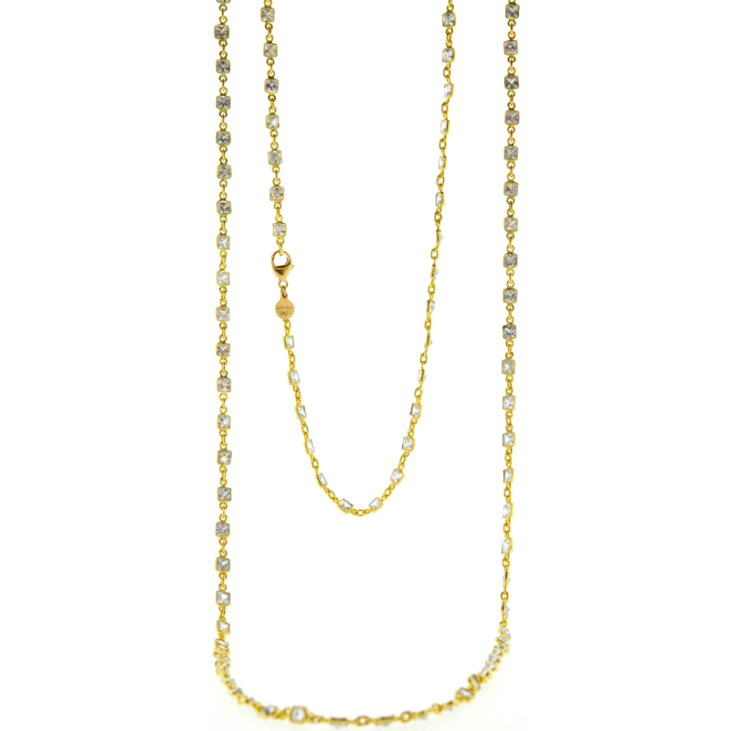 Long Vallauris Necklace in Gold