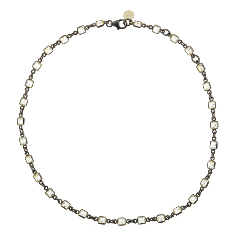 Vallauris Choker in Oxidized Sterling Silver