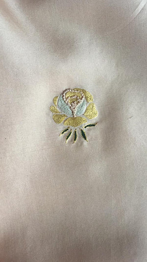 The Embroidered Rose Kurta