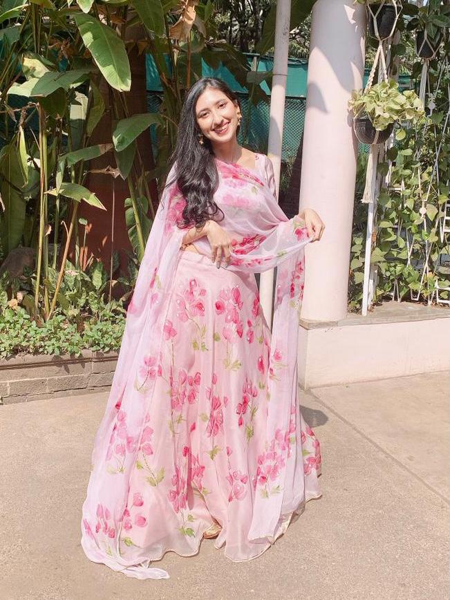 Bouganville's on Rosepink - Lehenga