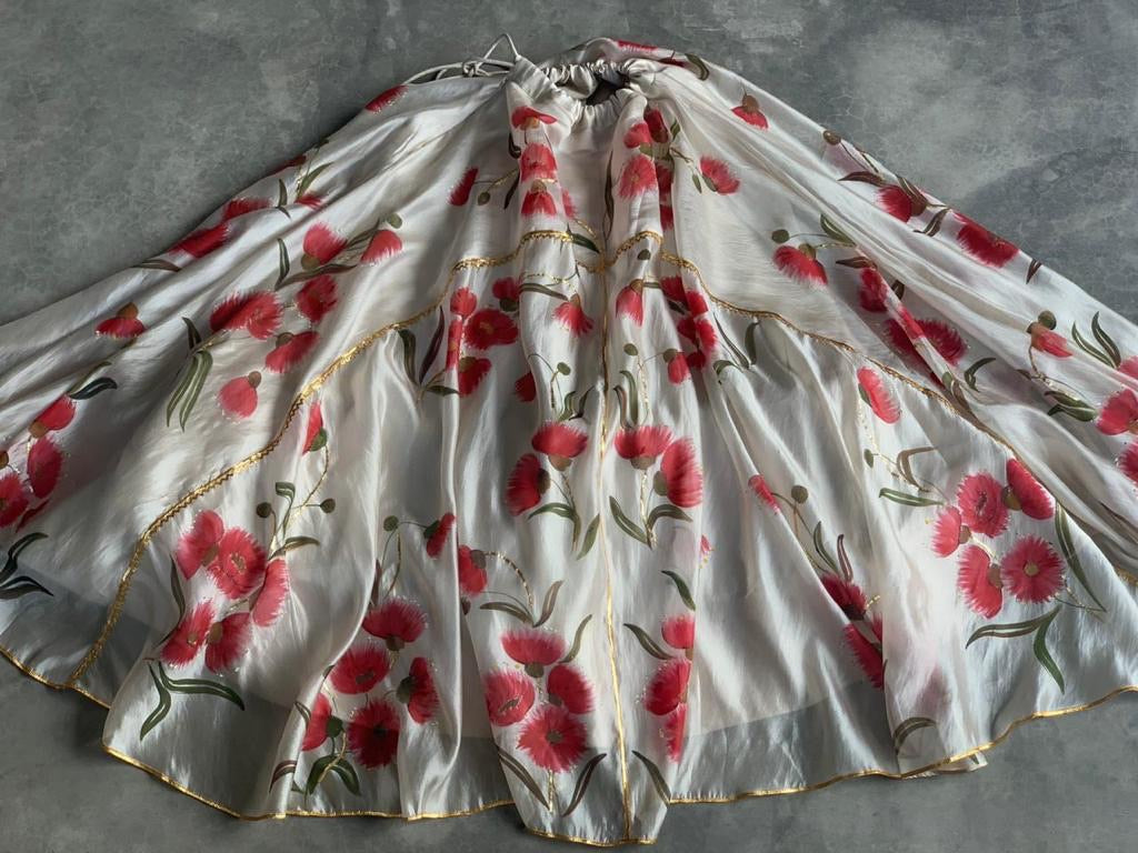 Custom gum tree lehenga set