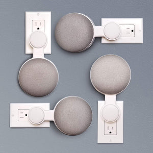 Google Home Mini Outlet Wall Mount Hanger Stand | A Low-Cost Space-Saving Solution
