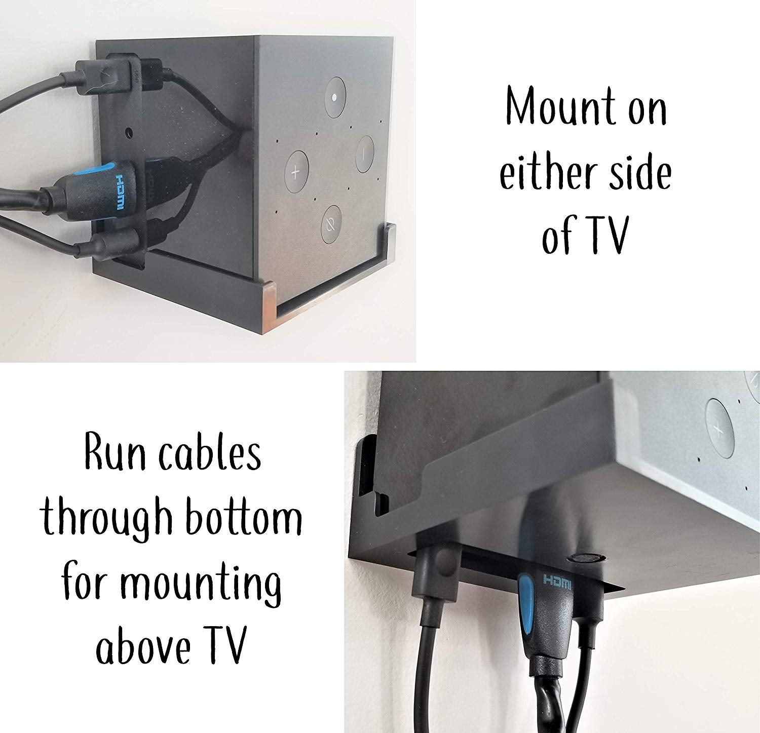 The Easy Hanging Tv Wall Mount For Amazon Echo Fire Cube Wiring