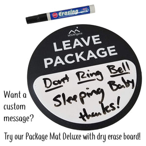 Package Mat [Basic] - A Simple Way to Let Deliveries Know Where to Leave Your Stuff.
