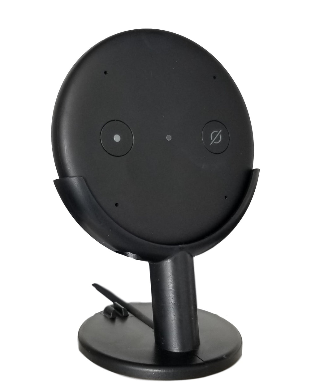 Dot Genie Echo Input Mount Stand Pedestal for Home Theater. Improves Microphone Response. Improves Visibility. Improves Appearance.