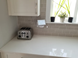 The Easy Outlet Shelf with Swivel Adapter for Google Home Hub