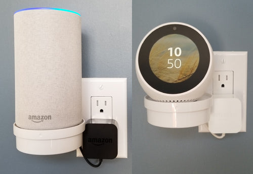The Smart Home Shelf for Amazon Echo, Echo Spot, Google Home and More