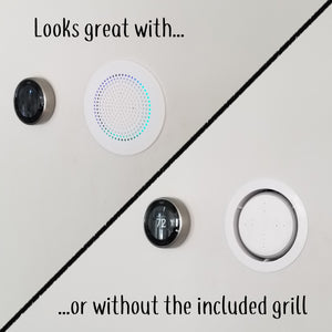 The Flush Mount 3 for Amazon Echo Dot 3rd Generation - Now With Included Grill!