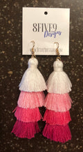 LONG TASSEL EARRINGS (PINK)