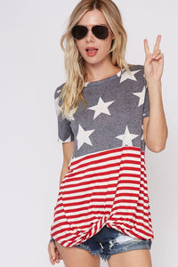 Stars and Stripes Twist Knot Top