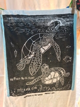 Honu - a hand printed and hand colored shirt