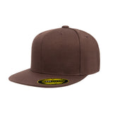 Premium flat brim fitted hat