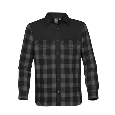 Lumberjack fleece lined plaid shirt
