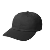 Unstructured brushed cotton cap