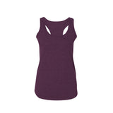 Ladies tri-blend racerback tank top
