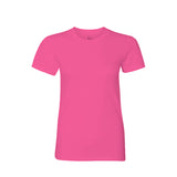 Premium ringspun cotton ladies t-shirt