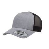 Curved brim trucker hat