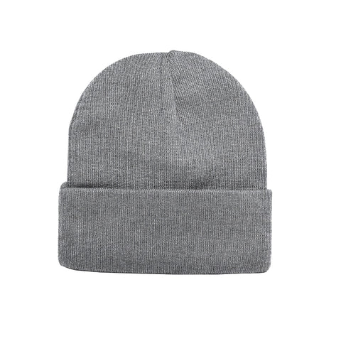 Tight knit roll-up toque