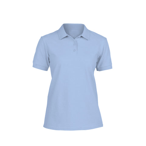 Ladies cotton polo shirt
