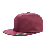 Unstructred snapback hat