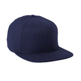 Stretch fit snapback cap