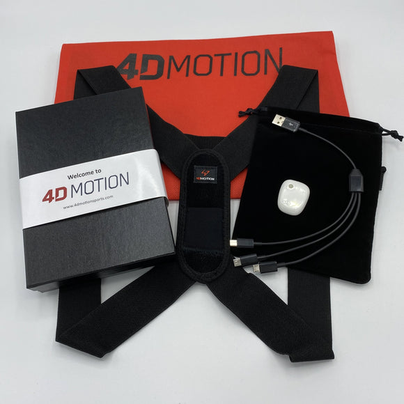 4D Motion 1-Sensor Hardware for Baseball/Softball