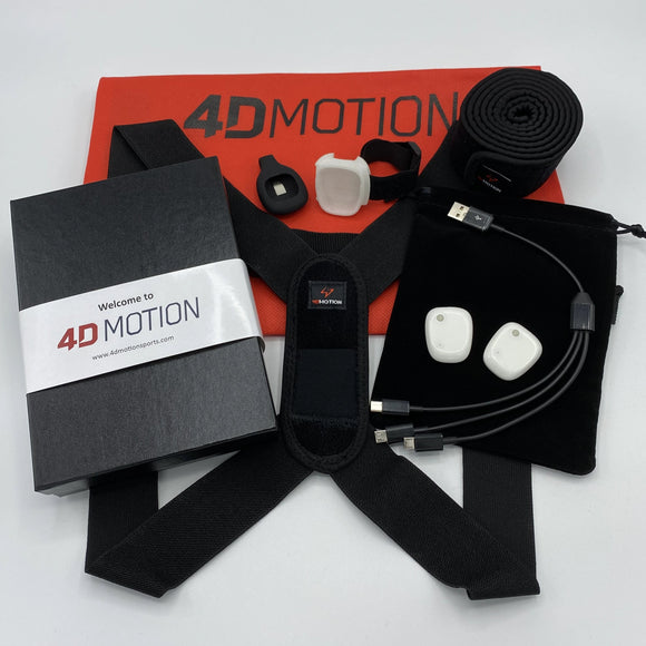 4D Motion 2-Sensor Hardware for Baseball/Softball
