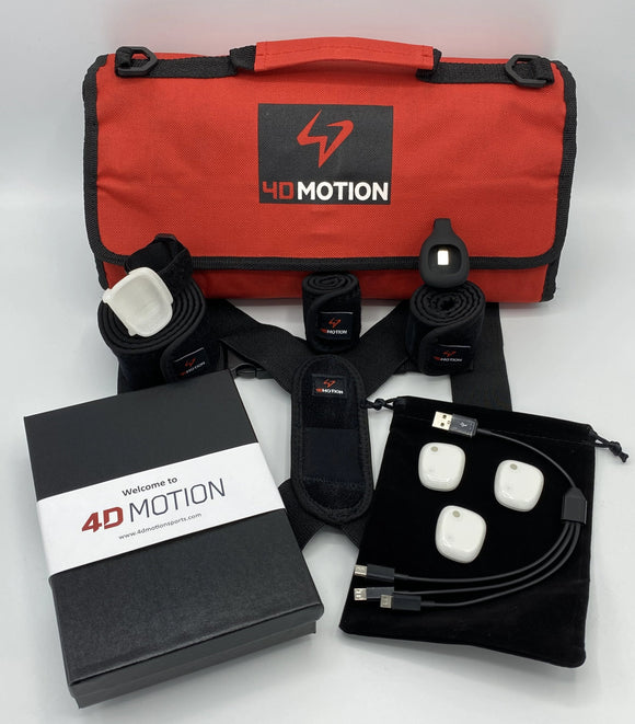 4D Motion 3-Sensor Hardware for Baseball/Softball