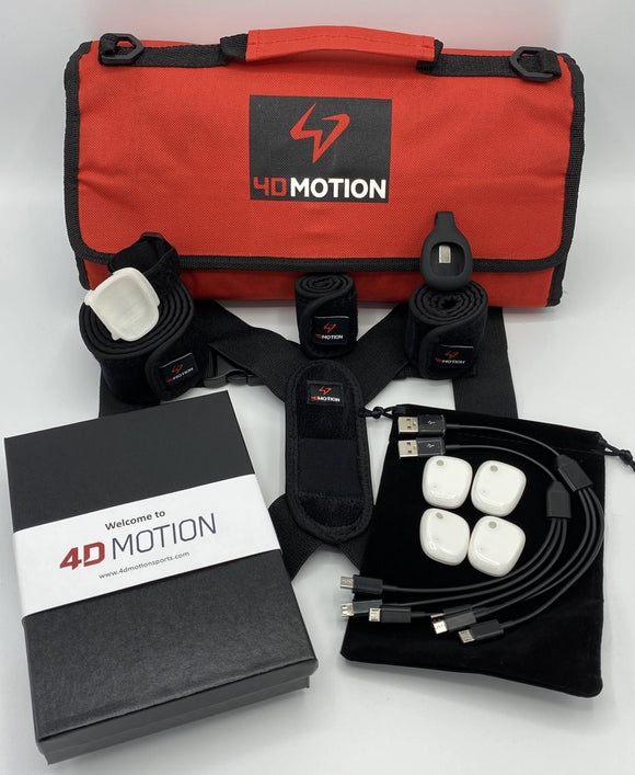 4D Motion 4-Sensor Hardware for Baseball/Softball