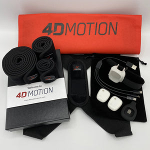 4D Motion 2-Sensor Hardware for Golf