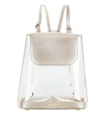 Kelly Wynne CLEAR BYOBACKPACK IN MOON