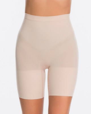 Spanx Power Short in Soft Nude