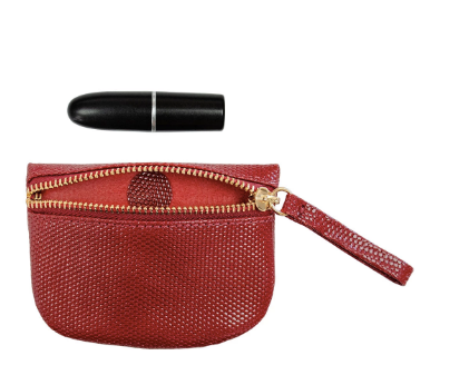 Kelly Wynne MVP Pouch in Red Haute