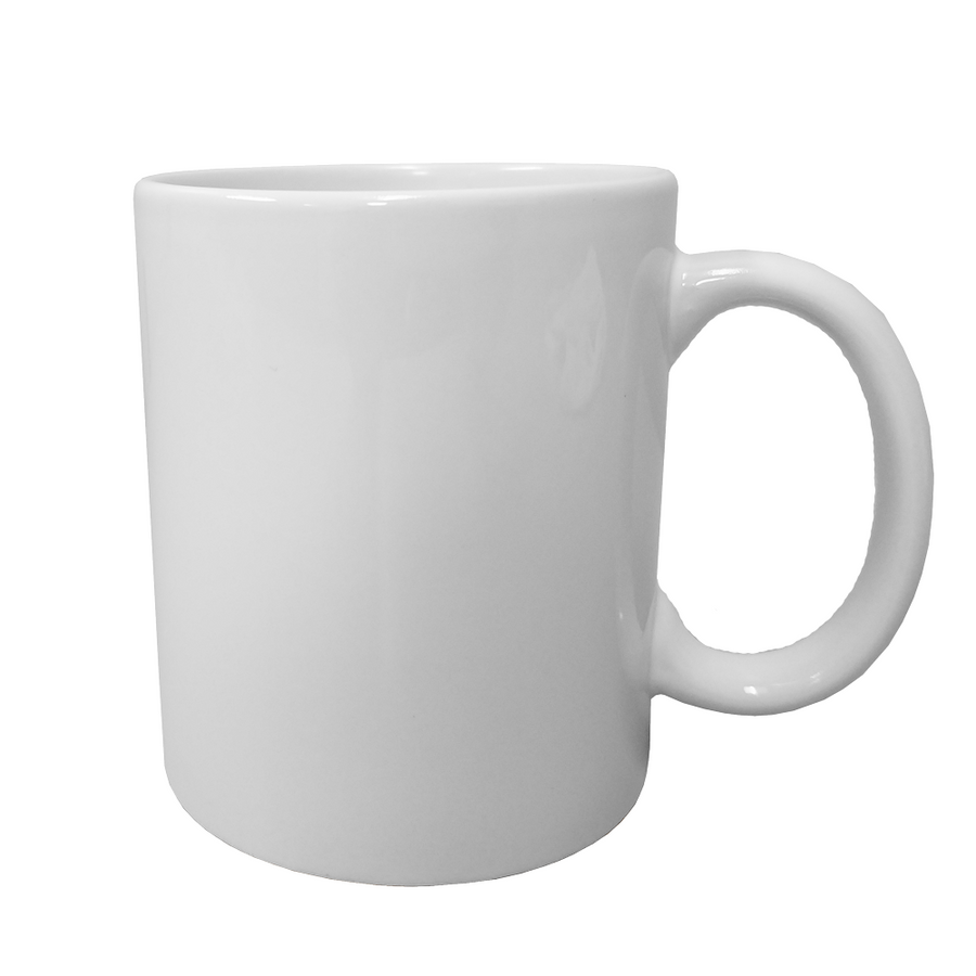 11 oz. Traditional Ceramic Coffee Mugs